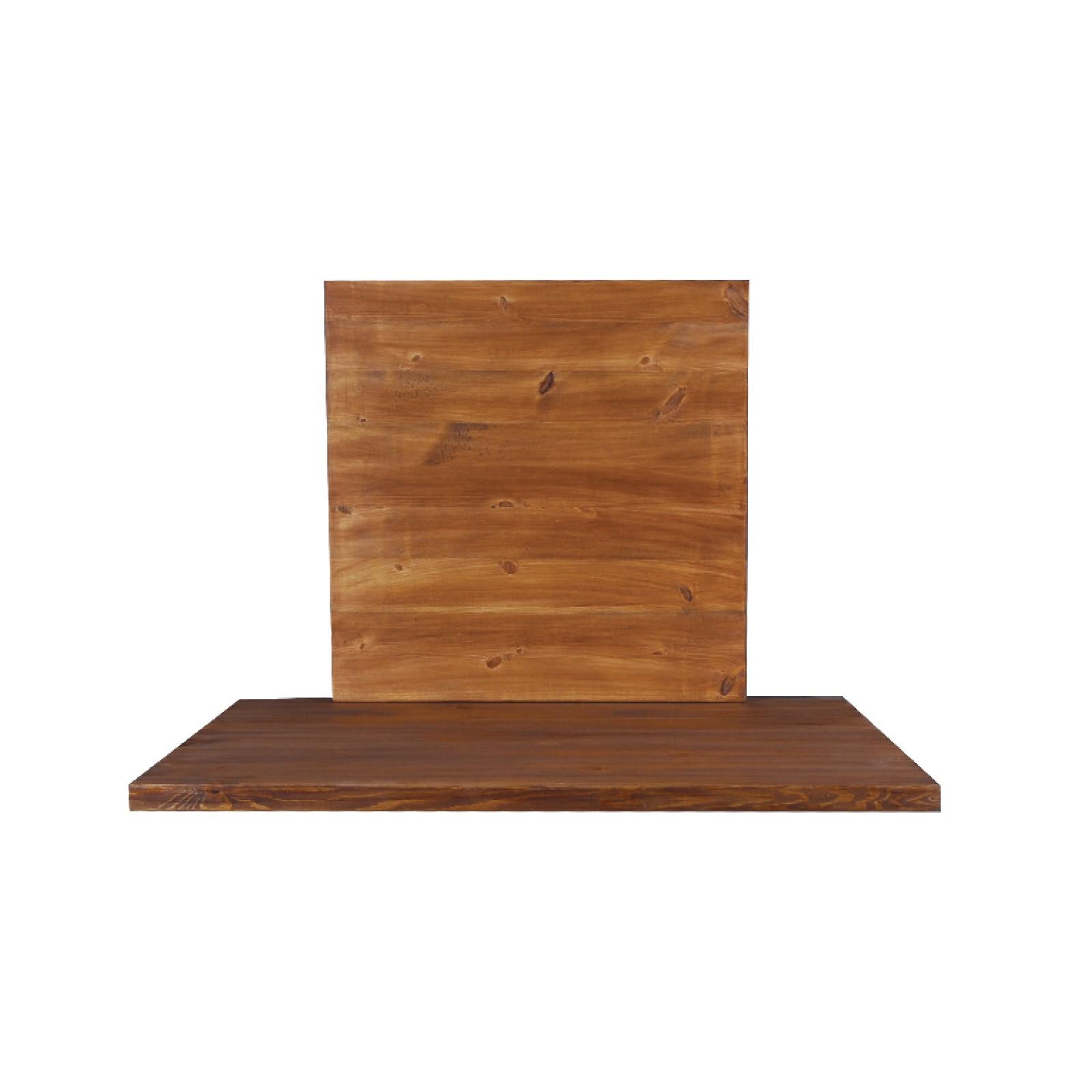 Дървен плот Пайн 60 х 60